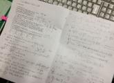 物理の指導は疲れます。