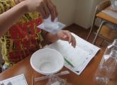 アルファ桜井校にて「理科実験教室&プレ夏祭り」を行いました!!