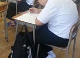 小杉教室 中3生全県模試実施中