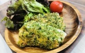 【賢くなる☆育能レシピ】ママも美肌に良い、鮭のくるみパン粉焼きー~vol.2
