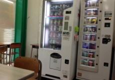 自動販売機があります!