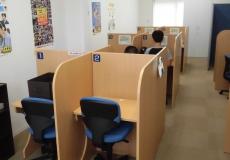 自習室は使い放題、授業がない日でもOK!