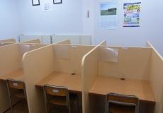 自習室があるから、いつでも集中して勉強できる!